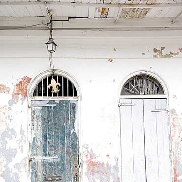 Doorways, French Quarter, New Orleans, Louisiana, United States