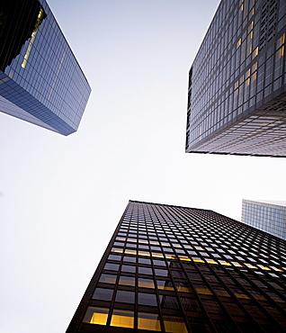 architecture, skyscrapers