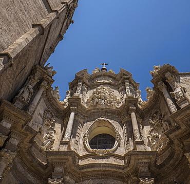 View of Santa Iglesia Cathedral, Valencia, Spain