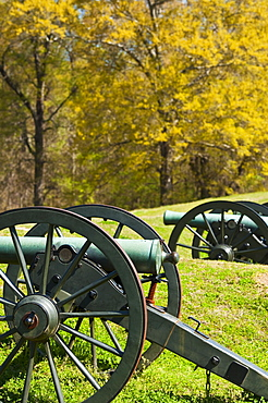 Cannons at Vicksburg National Military Park