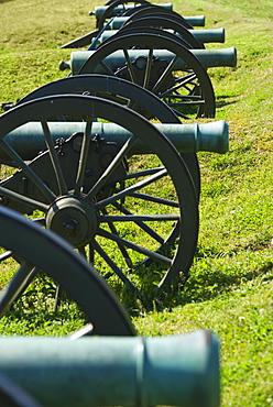 Cannons at Vicksburg National Military Park