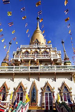 Low angle view of Wat Soi Thong Temple, Bangkok, Thailand
