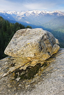 A rock at Sequoia National Park