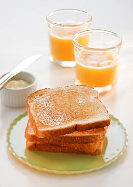 Studio shot of breakfast