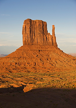 Monument Valley butte, Utah