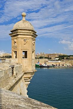 Senglea Point parapet, Valleta, Malta