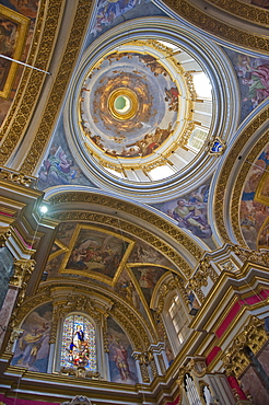 Ceiling of Mdina Cathedral, Malta