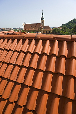 Tiled rooftop
