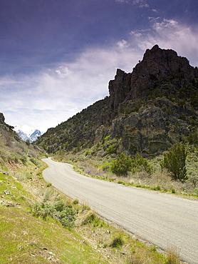 USA, Utah, Scenic view of desert road