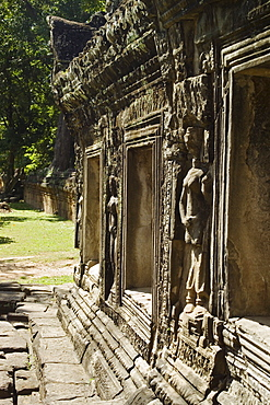 Ancient Temple Angkor Wat Banteay Kdei Cambodia Khmer