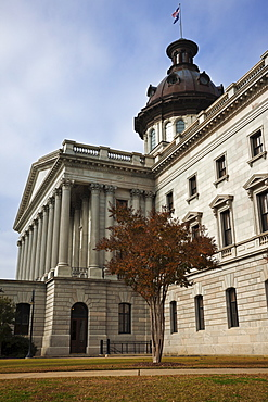 USA, South Carolina, Columbia, State Capitol Building