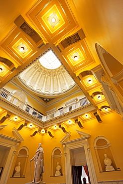 Interior of State Capitol Building, Richmond, Virginia