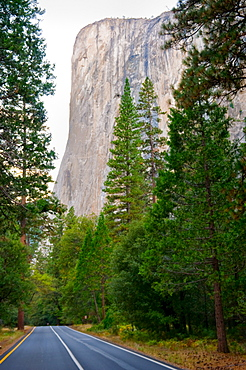 USA, California, Yosemite National Park, El Capitan