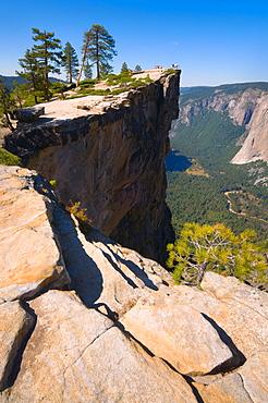 USA, California, Yosemite National Park, Taft Point