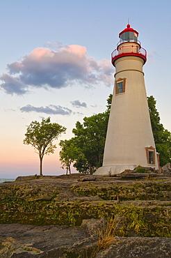 USA, Ohio, Marble Head Lighthouse