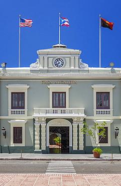 Government building, Casa Alcaldia, in Ponce, Puerto Rico