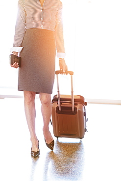 Businesswoman at airport