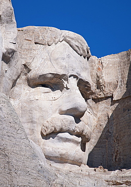 Head of Roosevelt on Mount Rushmore