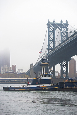 Brooklyn Bridge, USA, New York State, New York City