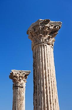 Turkey, Ephesus, Corinthian columns