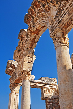 Turkey, Ephesus, Temple of Hadrian