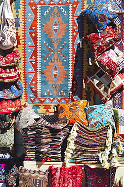 Turkey, Istanbul, rugs for sale