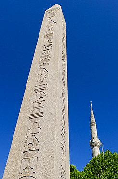 Turkey, Istanbul, Egyptian obelisk