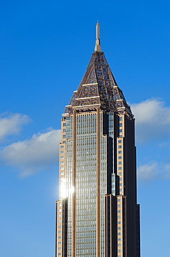 USA, Georgia, Atlanta, View of skyscraper at downtown