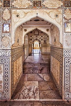 India, Rajasthan, Jaipur, Amber Fort, India, Rajasthan, Jaipur