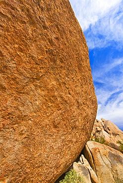 USA, California, Joshua Tree National Park, Detail of boulder, USA, California, Joshua Tree National Park
