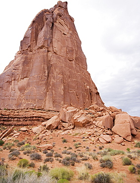 Red Rock at Arches National Park Moab Utah
