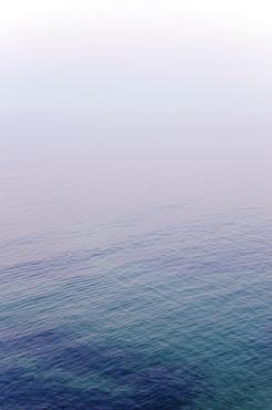 Seascape at dusk