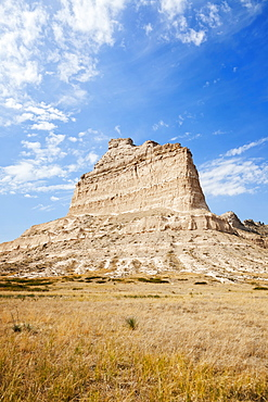 Scott's Bluff National Monument, Majestic rock formation, USA, Nebraska, Scott's Bluff National Monument
