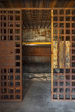 Antique prison cell