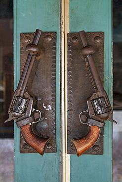 Antique revolvers, Deadwood, South Dakota