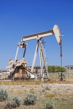 Oil pump, Wyoming
