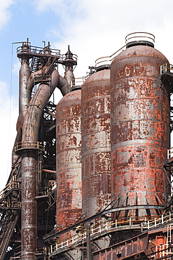Historical industrial mill, Bethlehem, Pennsylvania