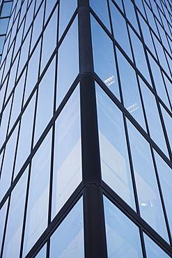 USA, Massachusetts, Boston, low angle view of skyscraper