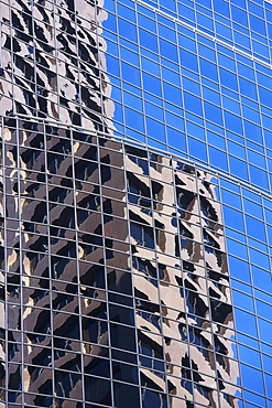 USA, Massachusetts, Boston, facade of office building