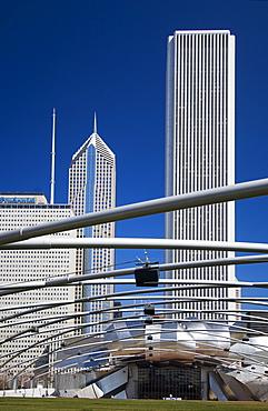 Pritzker Pavilion at Millennium Park Chicago Illinois USA