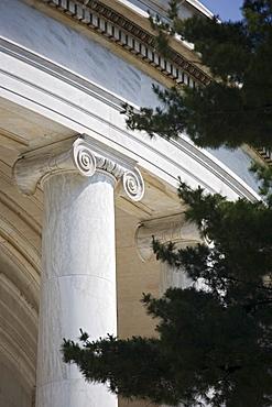Ionic column Jefferson Memorial Washington DC USA