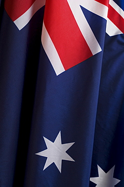 Close up of flag of Australia