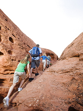 A family vacation in Red Rock
