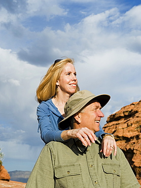 A couple at Red Rock