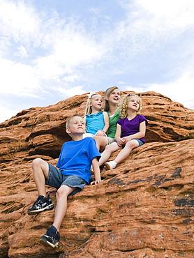 Kids at Red Rock