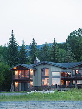 USA, Utah, Garden City, House exterior