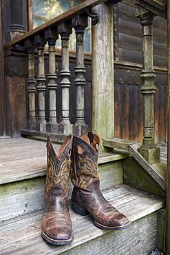 Pair of cowboy boots, Phoenix, Arizona