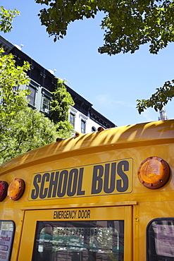 Part of school bus, Phoenix, Arizona