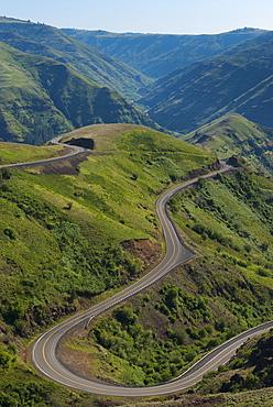 Mountain road, Asotin County, Washinton