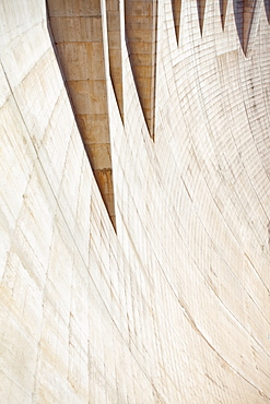 USA, Nevada, Boulder City, full frame of Hoover dam, USA, Nevada, Boulder City